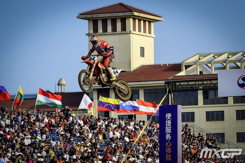 Resultados da 18ª etapa do Mundial de Motocross 2019: GP da China