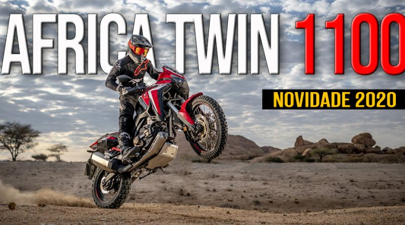 Reveladas as novas CRF1100L Africa Twin