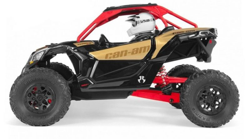 NOVO MODELO AXIAL YETI JR.™ CAN-AM