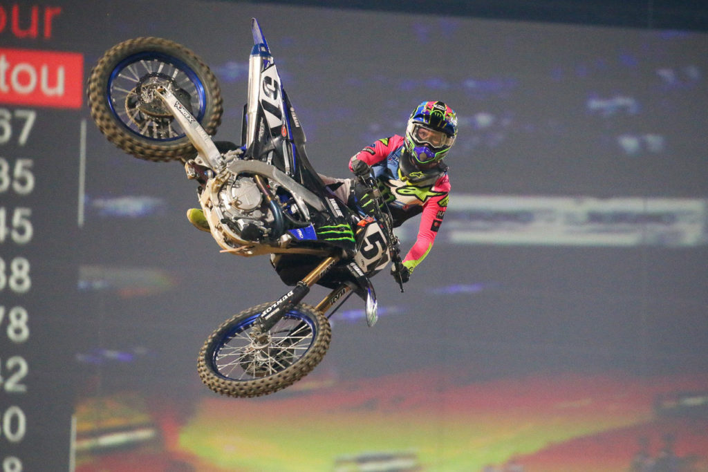 Resultados do Supercross de Paris 2019
