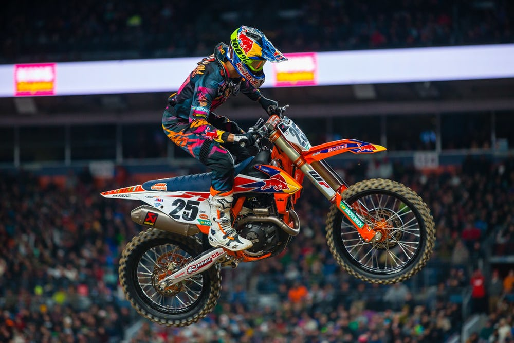 Marvin Musquin fora do AMA Supercross 2020
