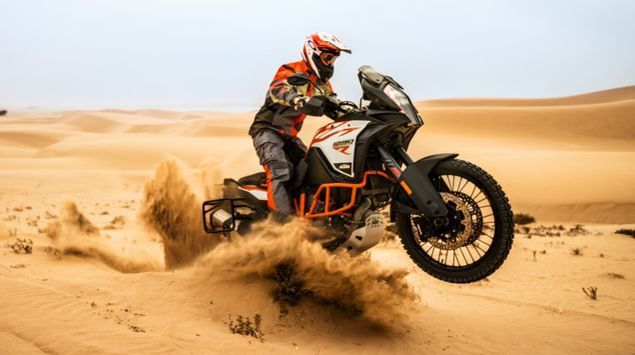 1290 Super Adventure R da KTM montado e avaliado por Chris Birch