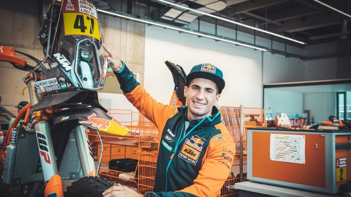 Rally: Kevin Benavides assina com a KTM Factory Racing